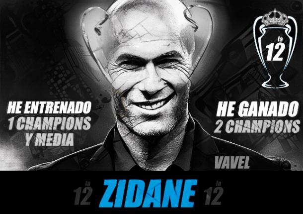 Zidane lleva pleno en UCL Fotografía: VAVEL