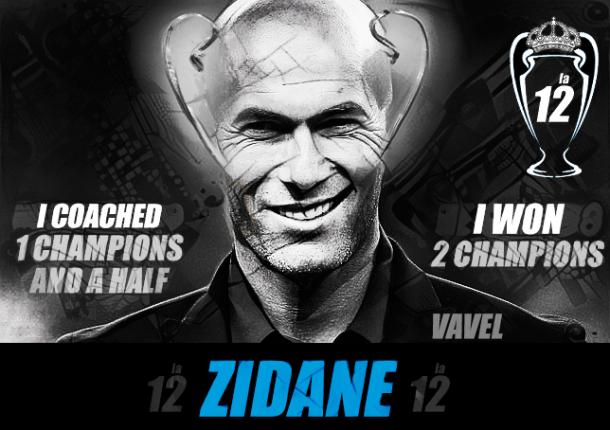 Zidane gana como entrenador la 12ª Copa de Europa para el Real Madrid, versión en inglés