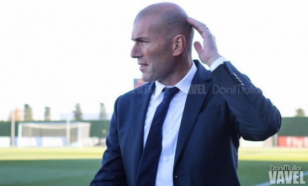 Zinedine Zidane, subentrato sulla panchina del Real Madrid | Photo: Vavel.com