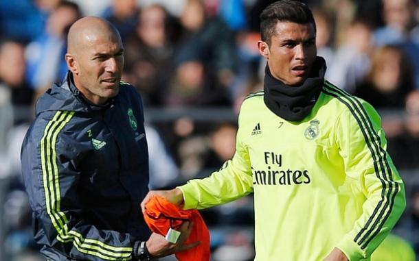 Cristiano e Zidane remarão lado a lado no próximo Sábado, rumo à 11ª Champions do Real // Foto: GettyImages