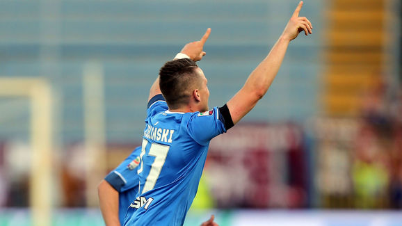 Zielinski has been angling for a move to Liverpool, one which appears increasingly unlikely to come off. (Picture: Getty Images)