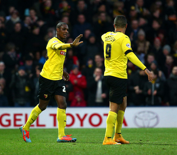 Ighalo and Deeney have settled well into Premier League life (Source: Zimbio)