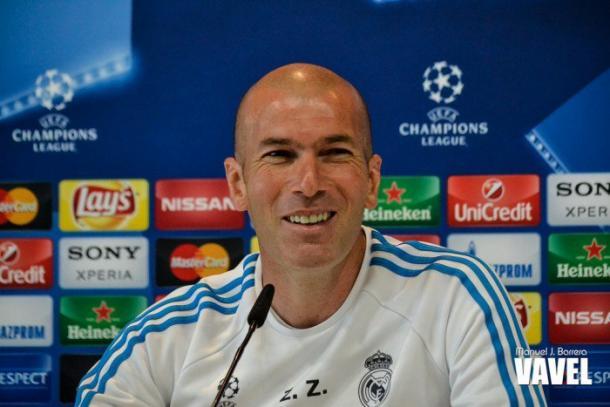Zidane ainda não pôde contar com todo o elenco