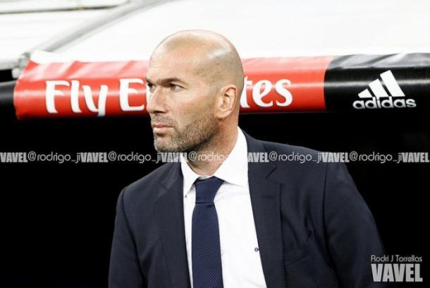 Zidane durante un partido. Foto: VAVEL
