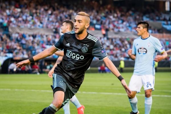 Ziyech fue el máximo asistidor de la Eredivisie 2016/17 | Foto: Ajax