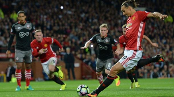 Zlatan Ibrahimovic ha già fatto male in campionato al Southampton. Fonte foto: The Indian Express