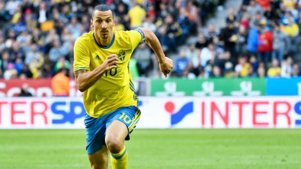Ibrahimovic's brilliance helped to draw Sweden level in their opening match (Photo: Getty Images)