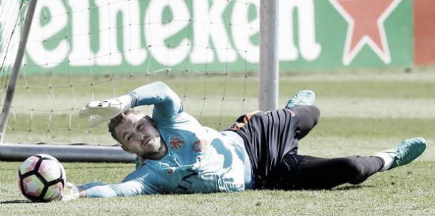 Zoet en un entrenamiento / Foto: onsoranje.nl