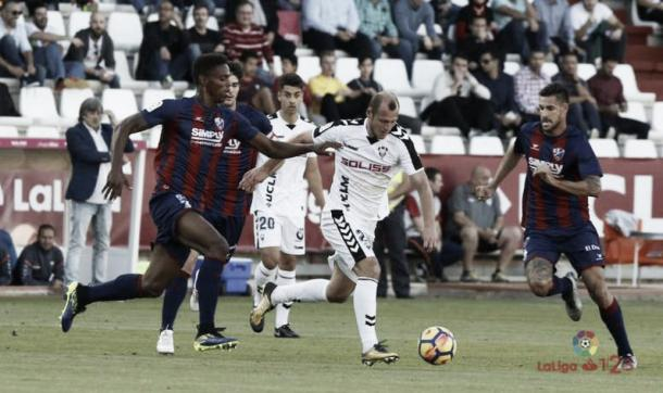 Zozulya durante un partido   Fotografía: La Liga