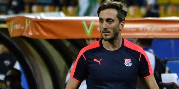Zubeldía, en su etapa en Independiente de Medellín. / Foto: Futbolred.com
