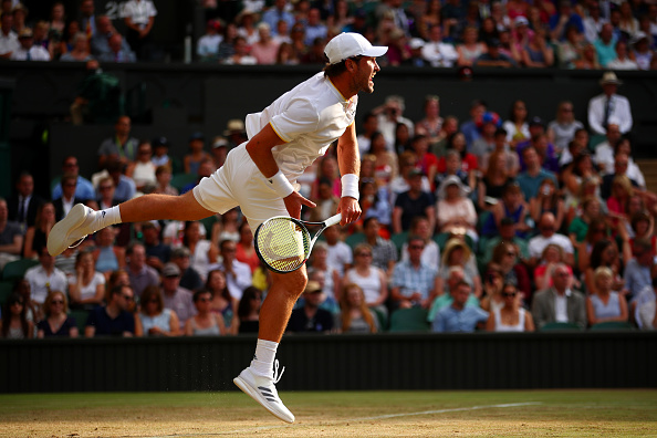 Zverev's serve and volleying was inconsistent (Photo by Clive Brunskill / Getty)