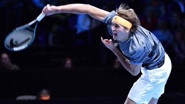 Zverev contros his own destiny as well as Nadal's/Photo: Peter Staples