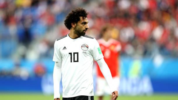Salah marcó de penal pero no tuvo un gran partido | Foto: Getty Images.