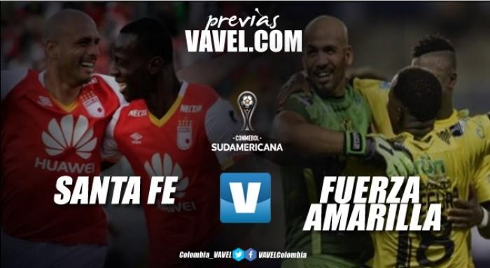 Santa Fe vs. Fuerza Amarilla: Los Cardenales buscan el paso a octavos de la Copa Sudamericana
