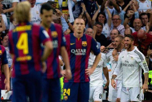 نهاية حزينة لبرشلونة , وريال مدريد وحده ملكاً فوق الميدان