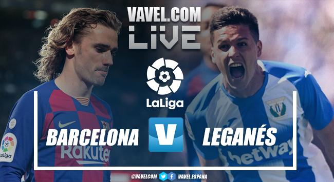 Resumen Barcelona 2-0 Leganés en LaLiga 2020