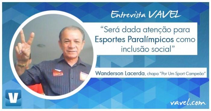 Representante da oposição, Wanderson Lacerda destaca presença de Esportes Olímpicos