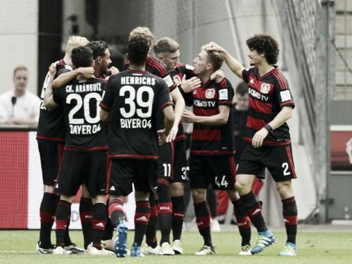 Bayer Leverkusen 3-2 FC Ingolstadt 04: Schmidt ends season with a home win over die Schanzer