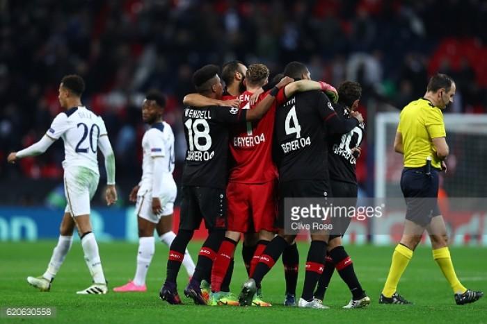 Tottenham Hotspur 0-1 Bayer Leverkusen: Kampl winner leaves struggling Spurs facing uphill battle for qualification