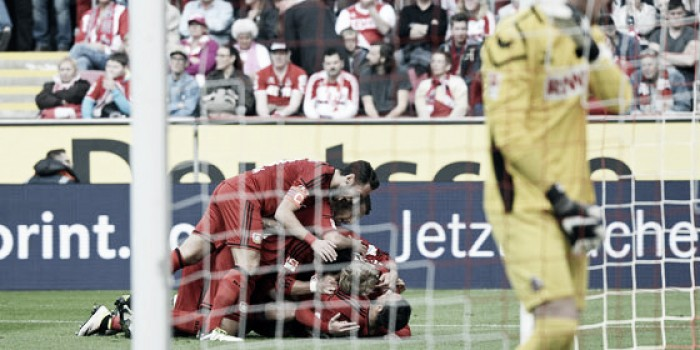 1. FC Köln 0-2 Bayer Leverkusen: Visitors claim all three points in Rhein Derby