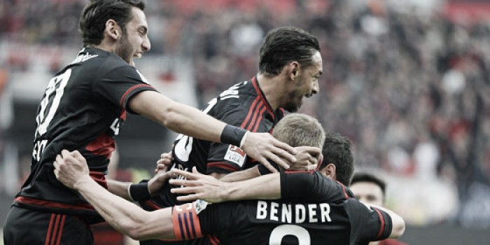 Bayer Leverkusen 2-1 Hertha BSC: Die Werkself secure Champions League berth for third year running