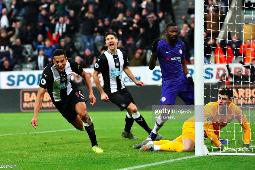Newcastle United 1-0 Chelsea: Hayden's last-second winner gifts Bruce the Magpies three points