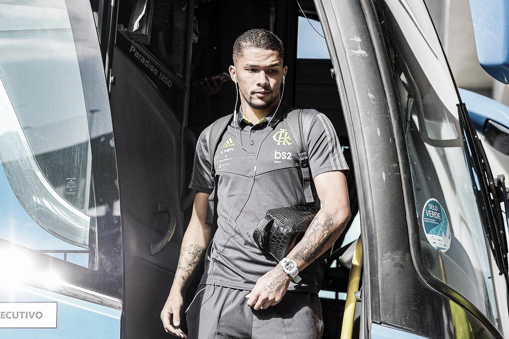 Discreto no Flamengo, Vitor Gabriel é emprestado ao Braga-POR