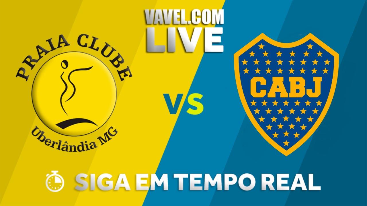 Resultado Dentil/ Praia Clube x Boca Juniors pelo Sul-americano de vôlei (3x0)