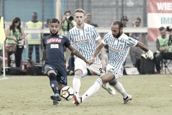 Serie A: la giostra del gol al 'Mazza' premia il Napoli (2-3)