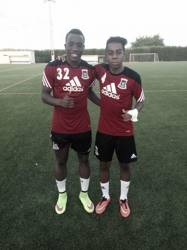 Los zaragocistas Borikó y Jannick jugarán el COTIF con Guinea Ecuatorial