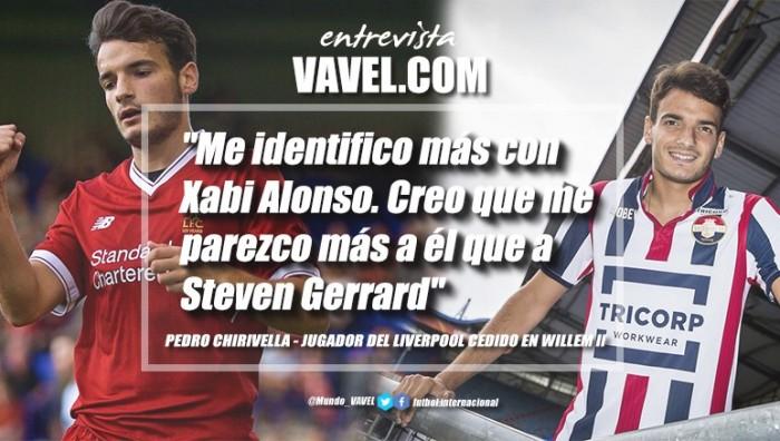 """Entrevista. Pedro Chirivella: """"Me identifico jugando con Xabi Alonso. Creo que me parezco más a él que a Steven Gerrard"""""""