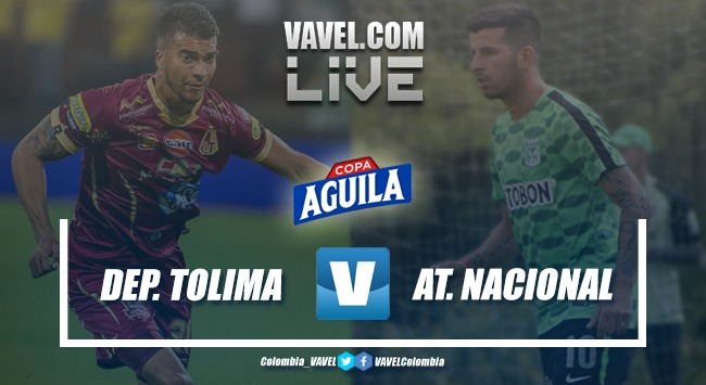 Resumen Deportes Tolima vs. Atlético Nacional por Copa Aguila 2019 (1-1)