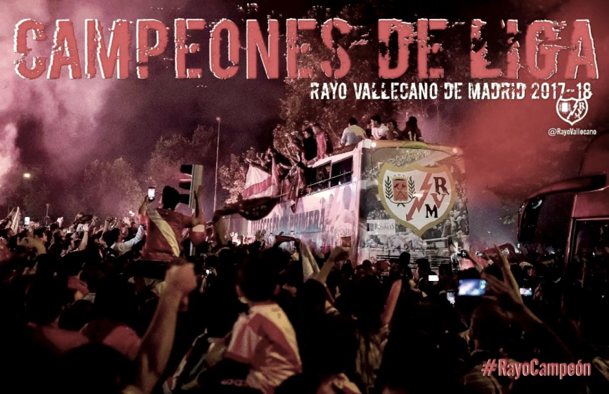 Un Rayo Vallecano campeón de la categoría