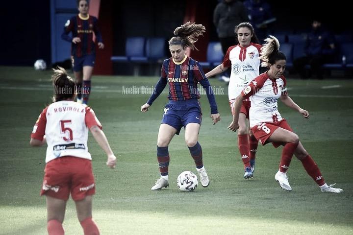 """Alexia Putellas: """"Queremos hacer historia en esta competición"""""""