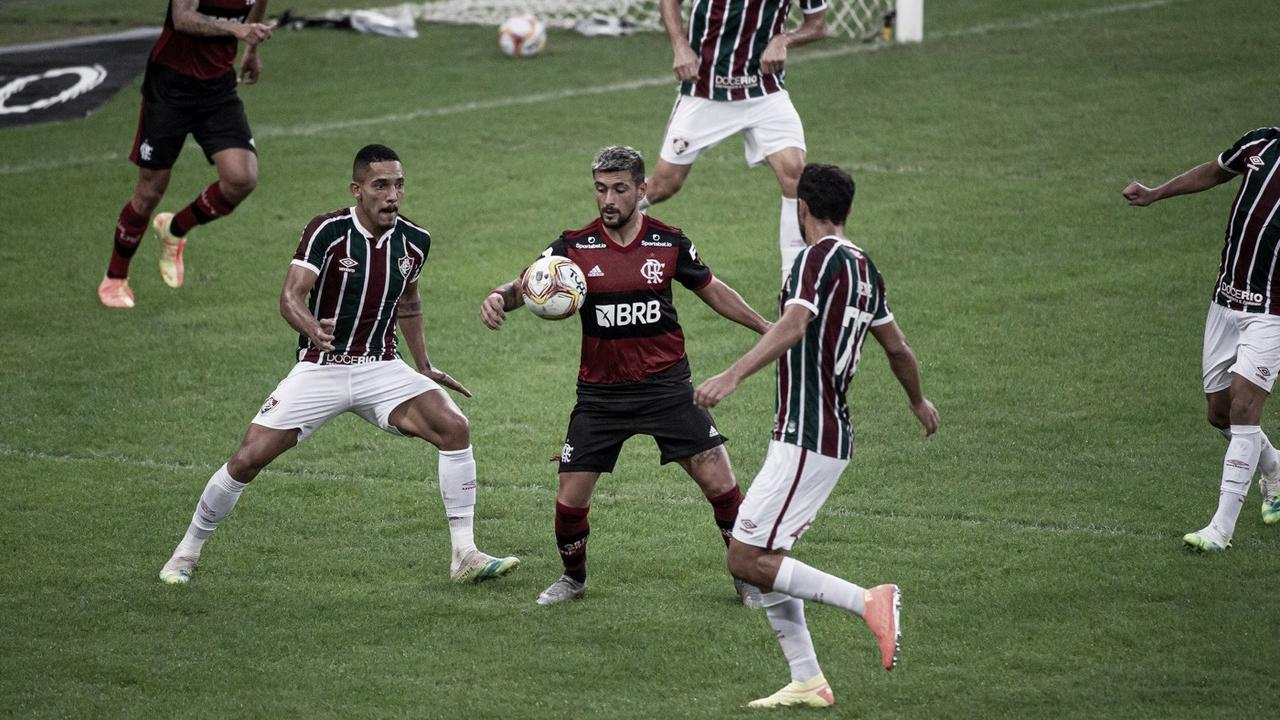 Fluminense ativo e dinâmico contra Flamengo cauteloso e oportunista