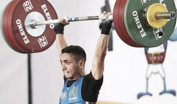 Las pesas le dan la primera medalla dorada a Colombia en Toronto 2015