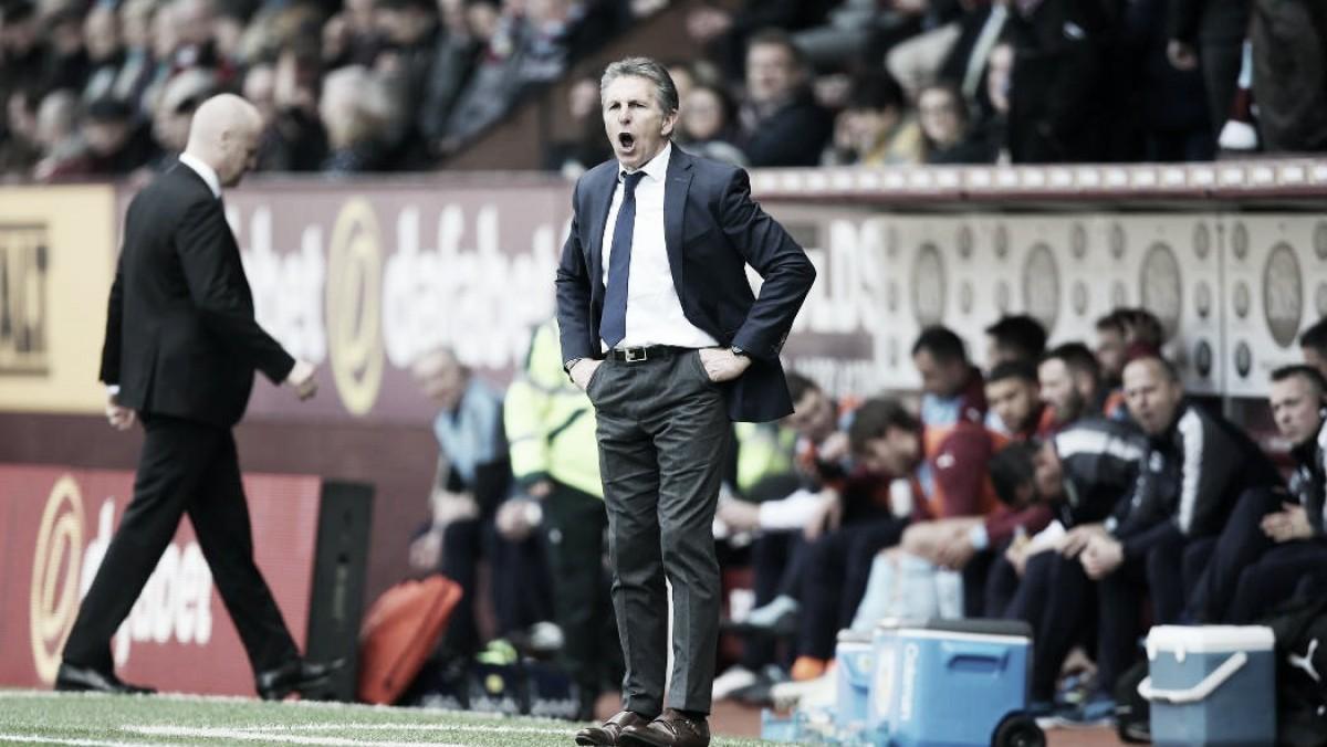 """Claude Puel: """"Tal vez hoy merecíamos otro resultado"""""""