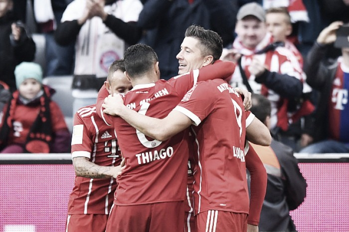 Bayern Munique goleia Mainz (4-0)