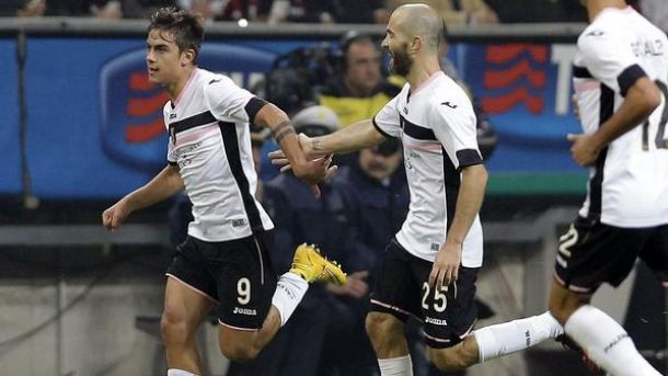AC Milan 0-2 Palermo - Dybala and co shock Milan at the San Siro
