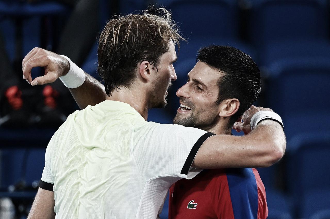 De virada, Djokovic perde para Zverev em Tóquio e dá adeus ao sonho do Golden Slam