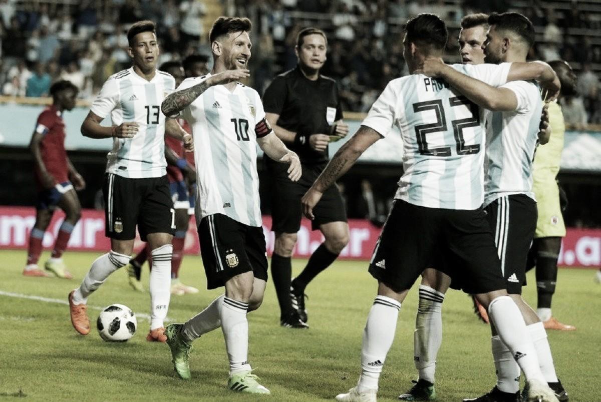 Messi, la figura de la despedida