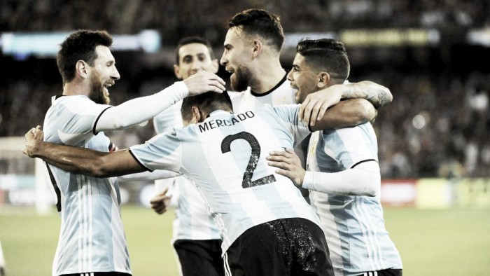 El inicio de la era Sampaoli, Argentina venció a Brasil