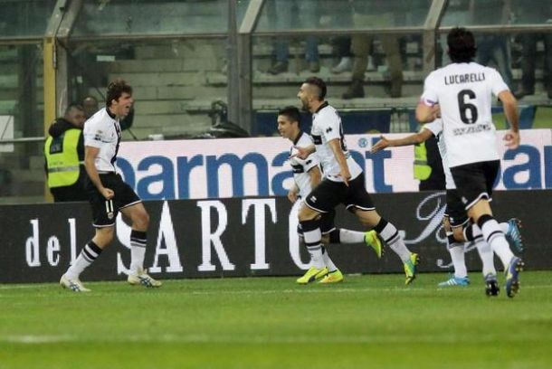 Parma 2-0 Inter Milan - De Ceglie's brace inspires Parma to a first home win of the season