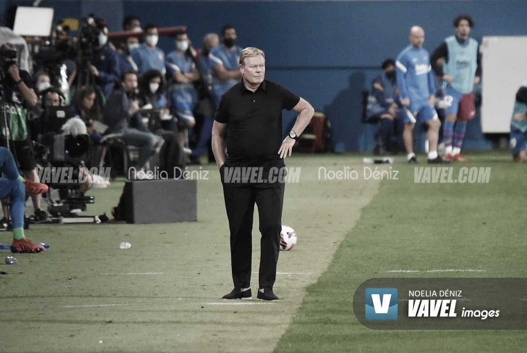 "Ronald Koeman: ""El partido de mañana no es decisivo"""