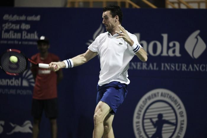 ATP Chennai: Roberto Bautista Agut downs Benoit Paire in straight sets