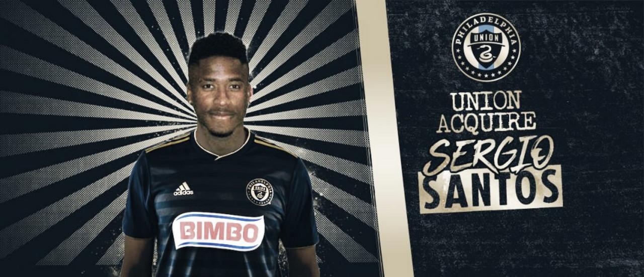 Sergio Santos goleará con Philadelphia Union