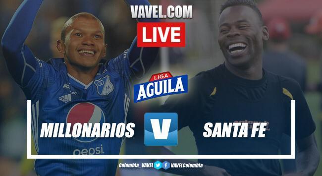 Millonarios vs Santa Fe en vivo y en directo online (2-4)