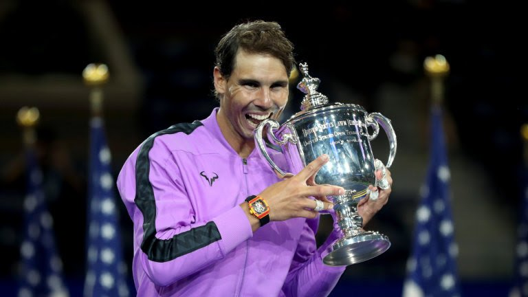 US Open: Rafael Nadal wins instant classic against Daniil Medvedev for 19th major title