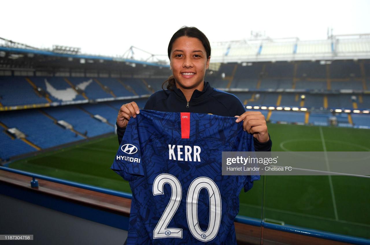 Sam Kerr signs for Chelsea Women until 2022