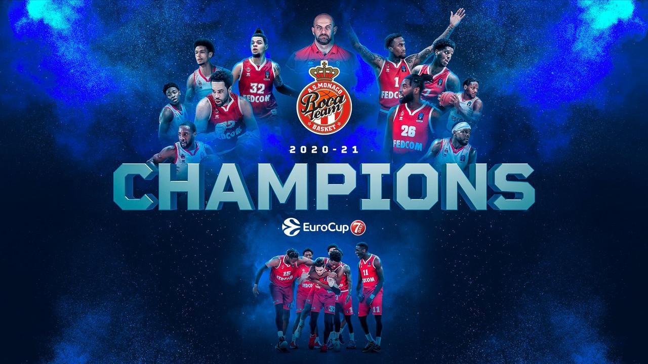 Al Monaco l'Eurocup 2021. Lo Zenit porta a gara 5 il Barcellona
